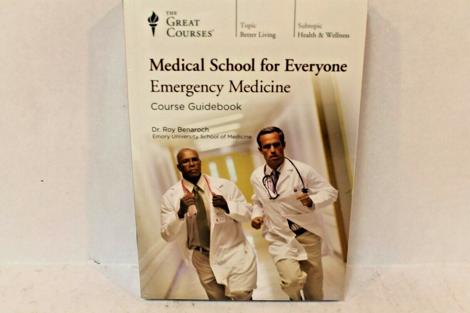 Great Courses Medical School for Everyone Emergency Medicine 4 DVDs Like