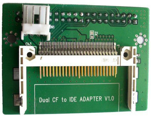 IDE to 2x CF Card Compact Flash Adapter Converter NEW