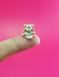 Adorable-Monkey-Miniature-Ceramic-Figurine-Handmade-Collectible-Gift-Craft