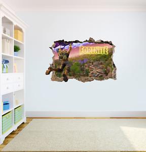 FORTNITE Wall Art Sticker Game High Quality Bedroom Decal Print Boys Girls