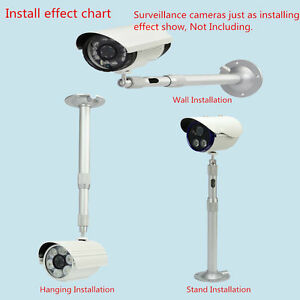 Image Is Loading Retractable Wall Ceiling Mount Bracket  For Security Surveillance