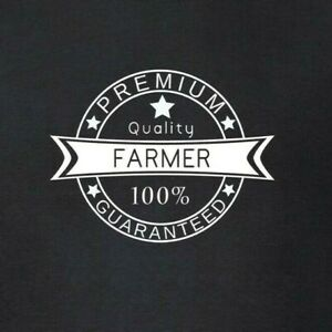 Farmer-Premium-Quality-100-Guaranteed-T-Shirt-Funny-Farming-Farm-Top