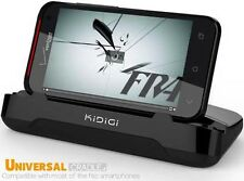 KiDiGi DESKTOP DOCK LITE HORIZONTAL CHARGER CRADLE FOR HTC DROID ANDROID PHONES