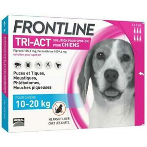 FRONTLINE TRI-ACT 10-20kg - 6 pipettes