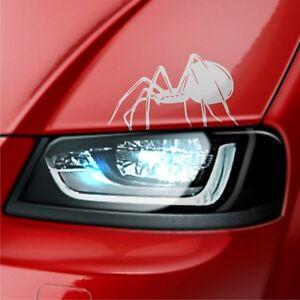 2x-Spider-Spinnen-Seitenaufkleber-21-5cm-Autoaufkleber-Tattoo-Tuning-Tribal-S19