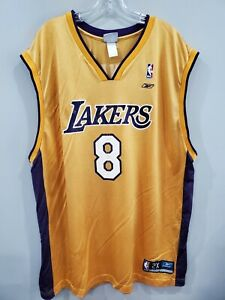 Rare Vintage 90s Reebok Los Angeles Lakers Kobe Bryant 8 Jersey ...