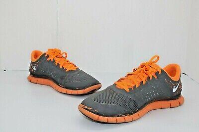nike free 4.0 v2 Nike Free 4.0 V2 Running Shoes Dark Grey Orange SZ 12 511472-008 ...