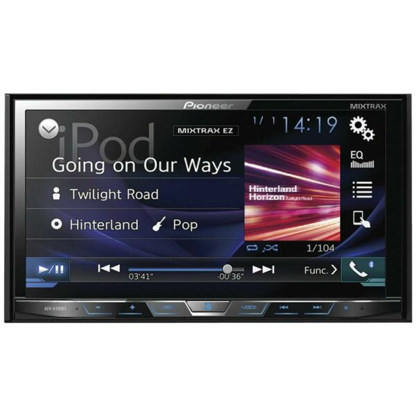 Pioneer AVH-X490BS In-Dash Multimedia Bluetooth DVD ...