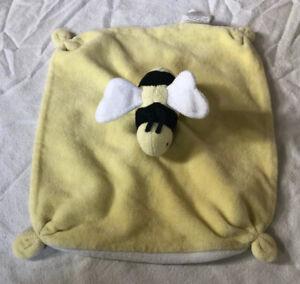 Burt/'s Bees Baby Plush Bee Lovey 100/% Organic Cotton Blanket in Yellow 0 Months