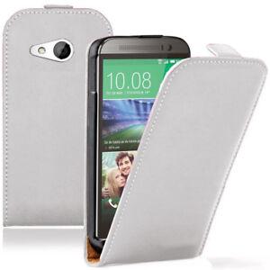 Schutz-Huelle-fuer-HTC-One-mini-2-M8-Mini-Eingabestift-Handy-Flip-Case-Cover