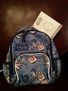 Nwt Pottery Barn Kids Star Wars Blue Pre K Backpack Mini