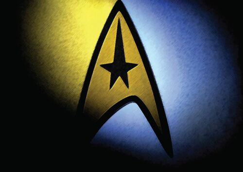 STAR TREK LOGO NEW ART PRINT POSTER YF1403