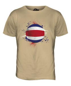 1d4542f0883 COSTA RICA FOOTBALL MENS T-SHIRT TEE TOP GIFT WORLD CUP SPORT