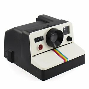 517141aba1 Image is loading Retro-Camera-POLAROLL-Polaroid-Toilet-Paper-Roll-Holder-