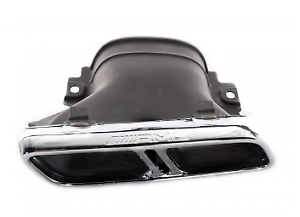 Mercedes-Benz-E-W213-derecho-A2134901602-Nuevo-Genuina-Cubierta-de-tubo-de-escape
