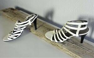 Worthington-White-Women-High-Heel-Summer-Shoes-Sz-9-5-M-323
