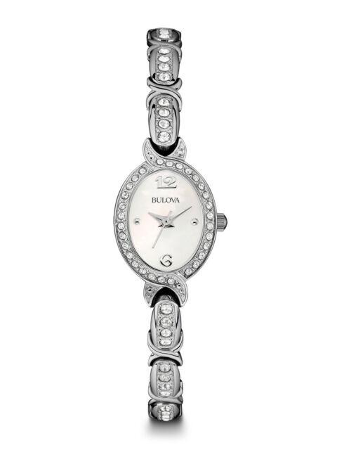 Bulova 96L199 Women's Watch - Silver