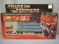 Transformers G1 optimus Prime Original Factory Sealed Vintage 1984