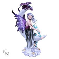 NEMESIS NOW LARGE FAIRY & DRAGON ORNAMENT/FIGURINE *MOONIQUE* NEW  BOXED