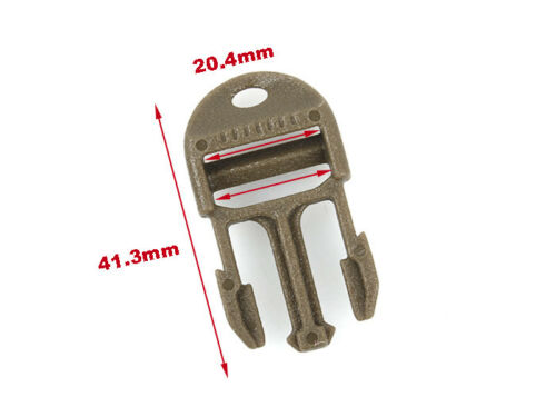 Details about  /4Pcs X-CON Ladder Quick Release Buckle 3//4 Lanyard Hole For 3//4 inch Webbing