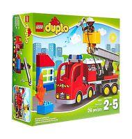 Lego Duplo Town Fire Truck 10592 Preschool Pre-kindergarten Lar... Free Shipping