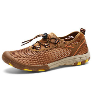 Men-039-s-Hiking-Shoes-Outdoor-Athletic-Shoes-Water-Shoes-Mesh-Breathable-Sneakers