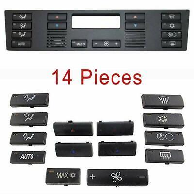 BMW X5 E39 E53 520 Air avec chauffage climat ventilation contrôle Bouton Interrupteur Set