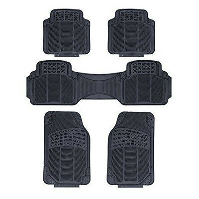TOYOTA PRIUS 2010 ONWARDS NEW BLACK TAILORED HEAVY DUTY RUBBER CAR FLOOR MATS