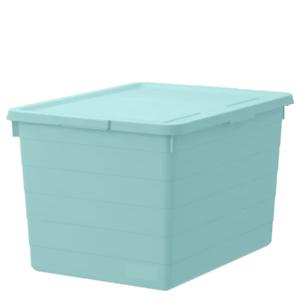 * Nouveau sockerbit Boîte avec couvercle bleu clair marque IKEA * 38x51x30 cm 204.020.20