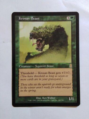 MTG Krosan Beast