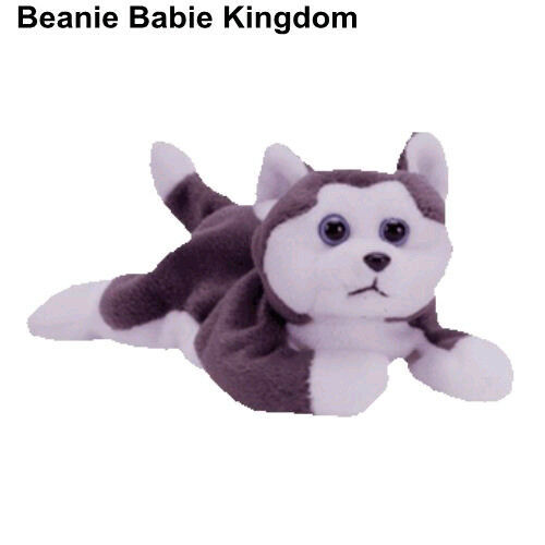 07bea5b7bf2 TY Beanie Babies  nanook  The Blue Eyed Husky Dog Soft Toy Plush for sale  online