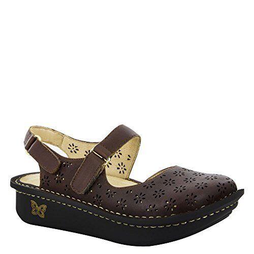 Alegria femmes Jemma  Leather Closed Toe Professional Slingback Sandals