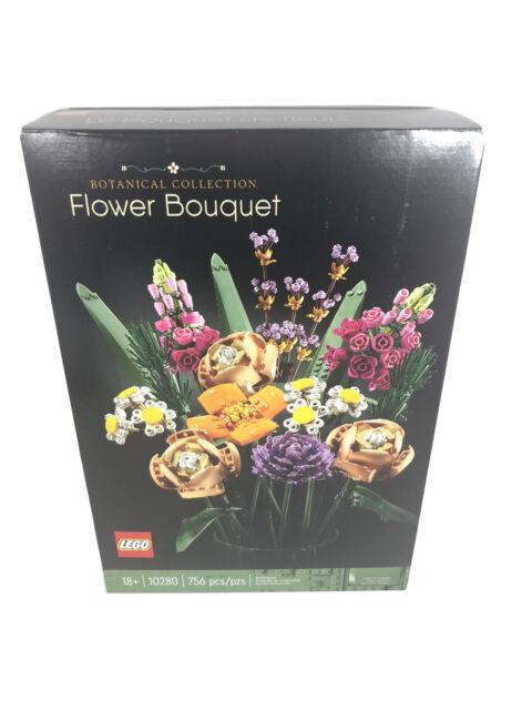 LEGO 10280 Botanical Collection Flower Bouquet (756 pcs) Brand New! Sealed!