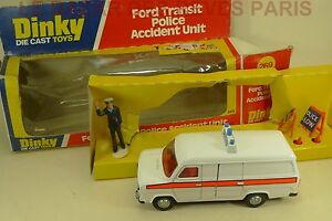 Dinky Toys Gb.   Ford Transit Police.   Boite.