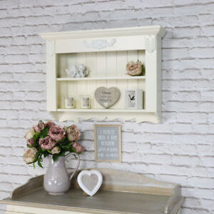 Delicieux Image Is Loading Ornate Cream Wall Shelving Unit Vintage French 2