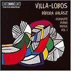 Heitor Villa-Lobos - Villa-Lobos: Complete Piano Music, Vol. 1 (1995)
