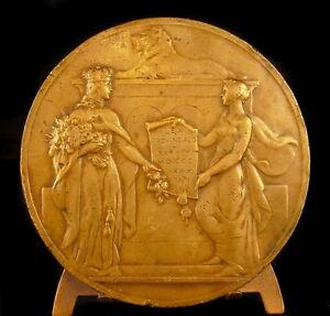 Medaille-Les-provinces-reunis-Belgique-Belges-LEX-PROVINCIALIS-1836-1936-Medal