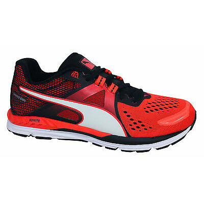 Puma Ignite Speed 600 Lace Up Mens Blast Red Trainers Running Shoes 188517 06 P1