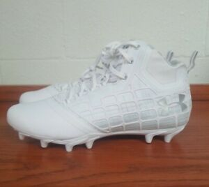 Size 9.5 Football Lacrosse Cleats White