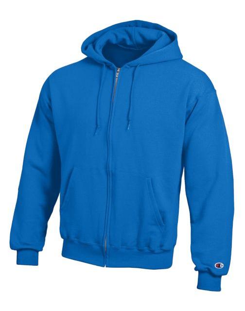 9 COLORS Champion Men/'s Double Dry Action Fleece Full Zip Hoodie Jacket S-3X