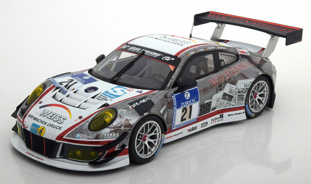 MINICHAMPS 2016 Porsche 911 991 GT3 R 24h Nurburgring  18New ItemHOT CAR