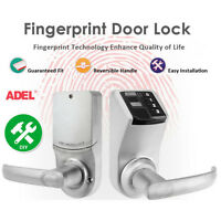 Adel Electronic Diy Biometric Fingerprint Keyless Password Door Access Lock Us