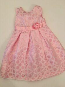 0592d7128 Penelope Mack Girl Summer Dress Size 4 Pink Sleeveless Fancy Wedding ...