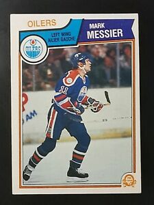 MARK MESSIER - 1983-84 O-PEE-CHEE  #39 NM EDMONTON OILERS