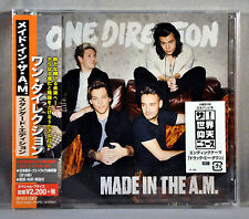 One DIRECTION Made In The A.M. + 2 BONUS Trks JAPAN CD w/ OBI Sealed SICP-4593