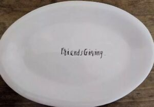 Rae-Dunn-Friendsgiving-Script-Ovals-Appetizer-Plates-Thanksgiving-Set-Of-6
