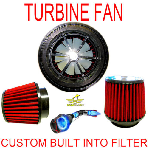 Fit For Chevrolet Performance Electric Air Intake Supercharger Fan Motor Kit