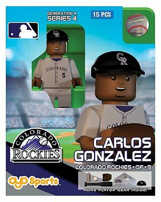 Carlos Gomez OYO Milwaukee Brewers MLB Mini Figure NEW G4