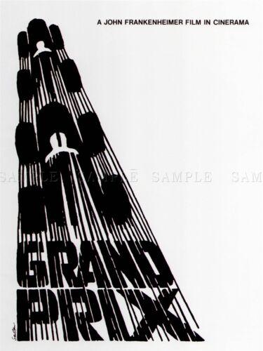 ADVERTISING CULTURAL MOVIE FILM GRAND PRIX JAMES GARNER USA POSTER PRINT BB2207A