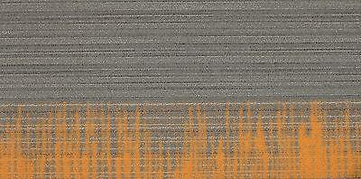 """SHAW Chevron Horizon Orange Carpet Tiles 18"""" x 36"""""""